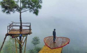 spot foto rumah pohon banyu anyep