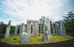 stonehenge merapi, stonehenge di jogja, cangkringan merapi