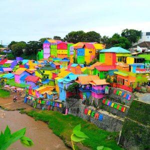 kampung warna warni malang, kampung warna warni