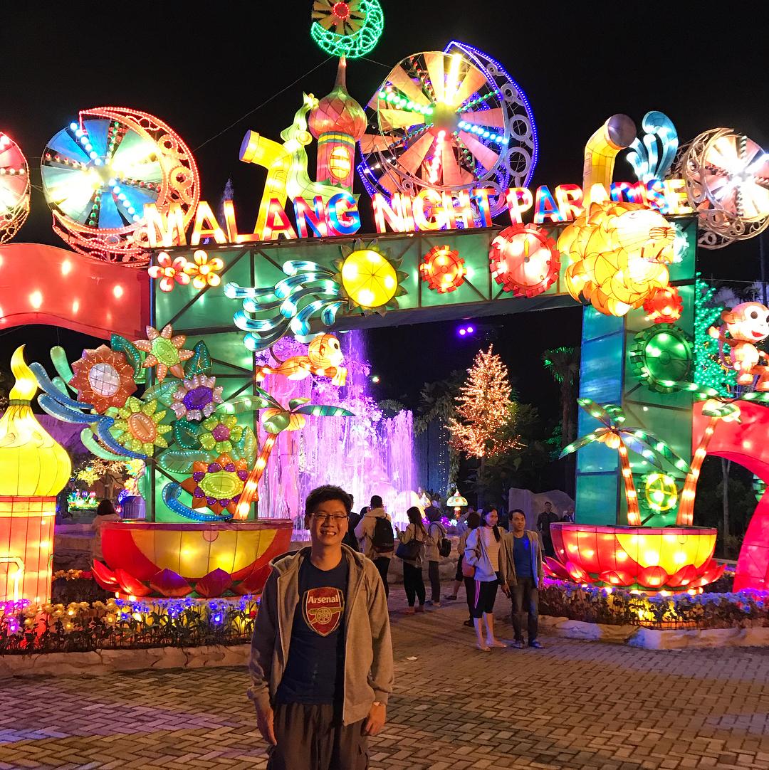 Wahana, Lokasi dan Harga Tiket Masuk Malang Night Paradise
