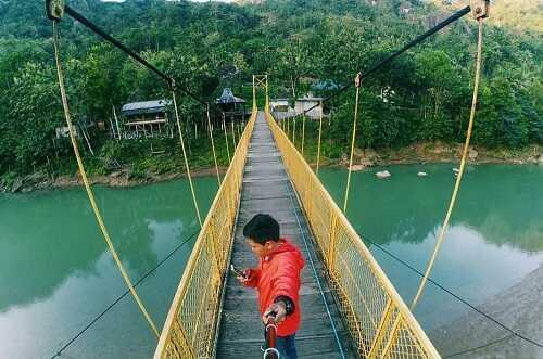 jembatan gantung selopamioro