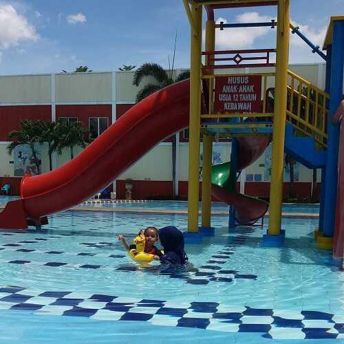 kolam renang puri beta tangerang untuk anak