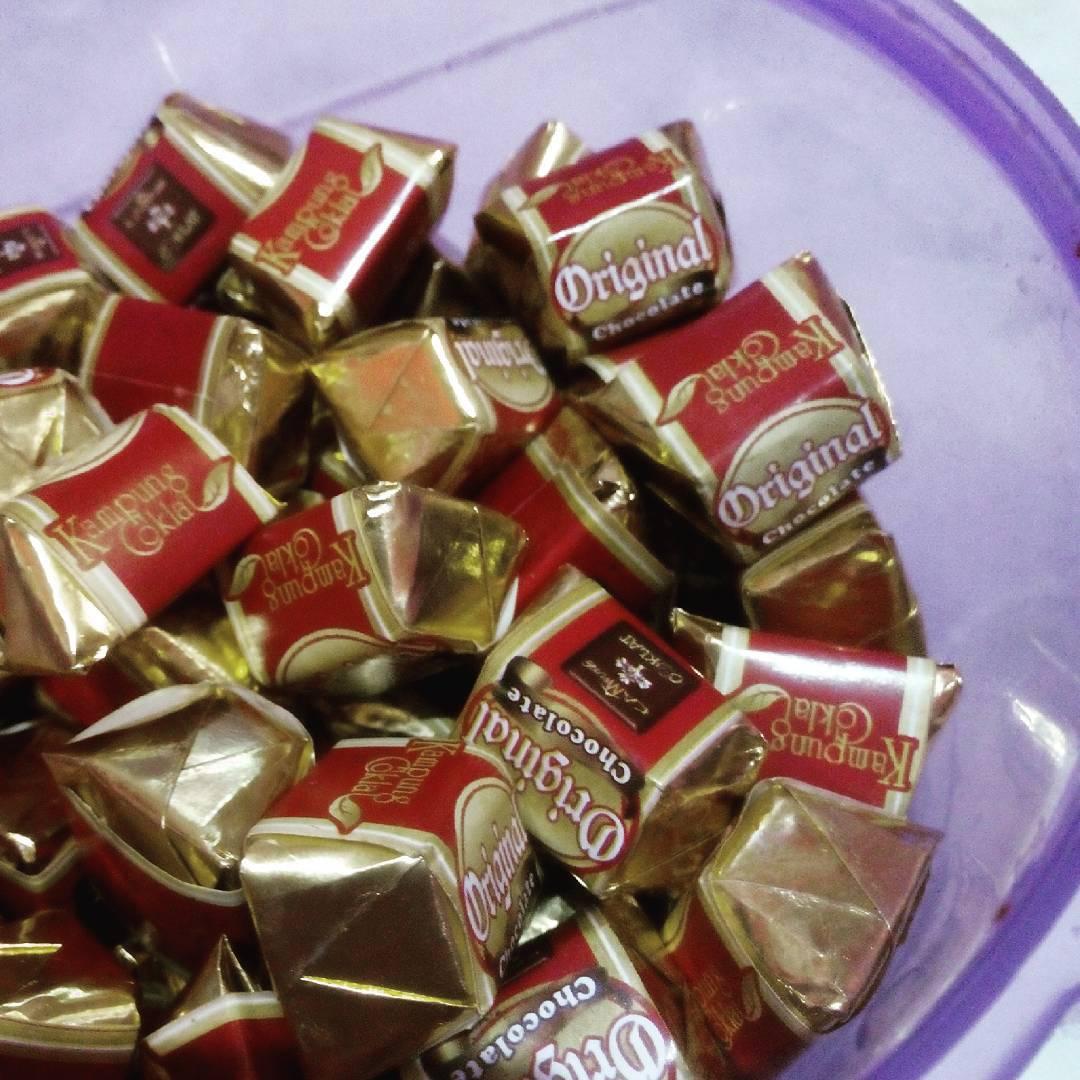 cemilan coklat di kampung coklat blitar