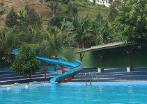 kolam renang tirta alam gunung leutik