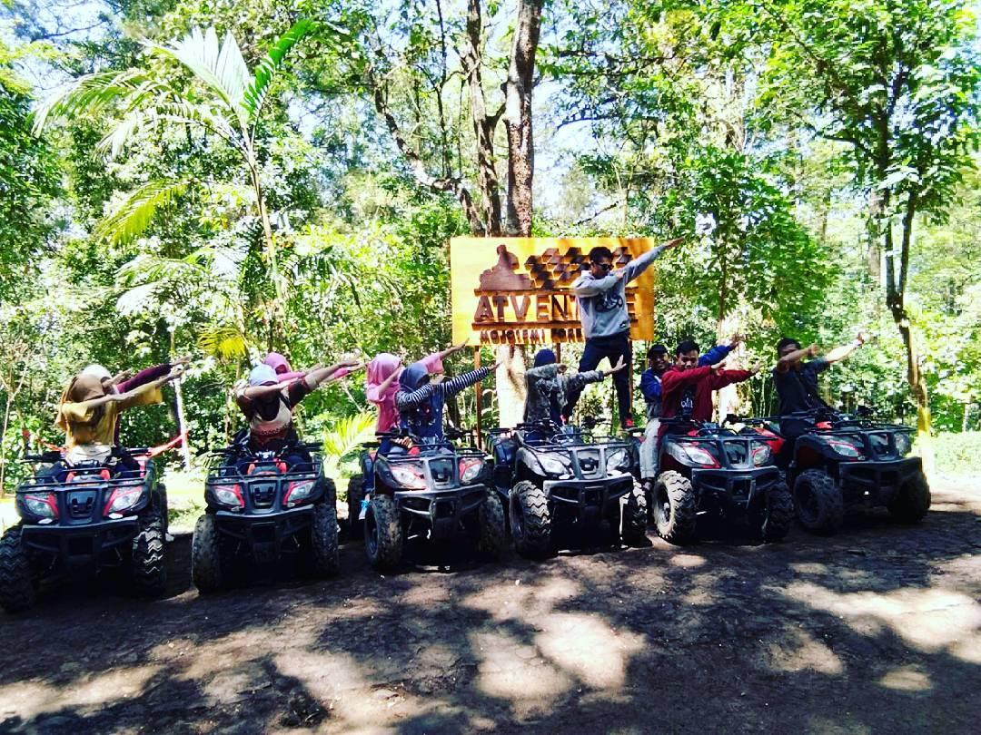 permainan ATV di mojosemi forest park