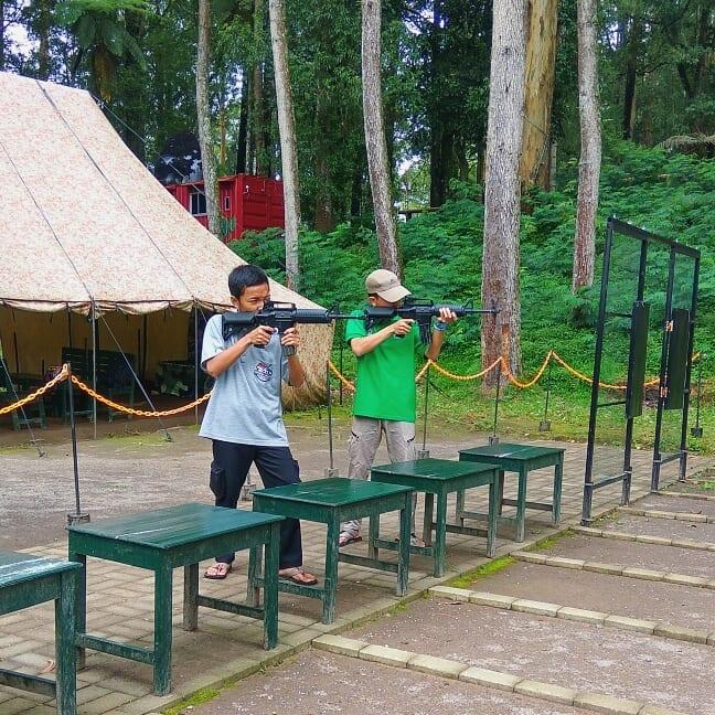 permainan softgun di mojosemi forest park