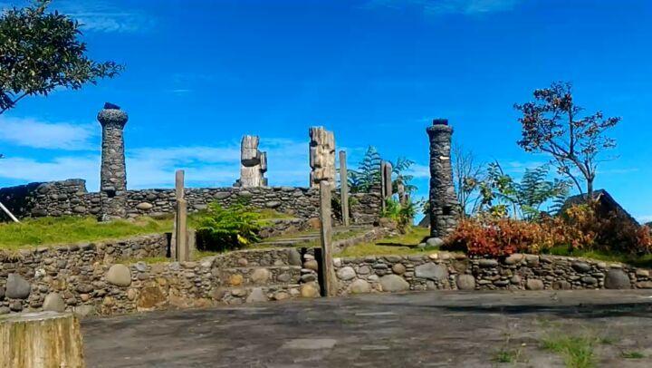 stone garden di kampung budaya sunda paseban