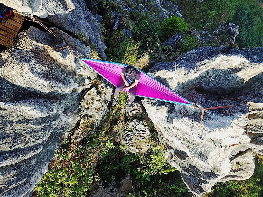 view spot hammock dari atas