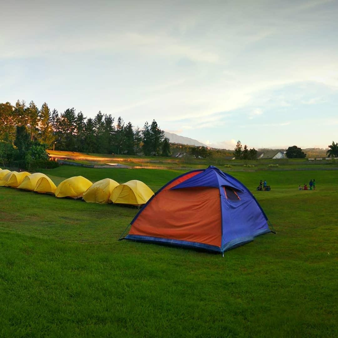 asyiknya camping di taman budaya sentul