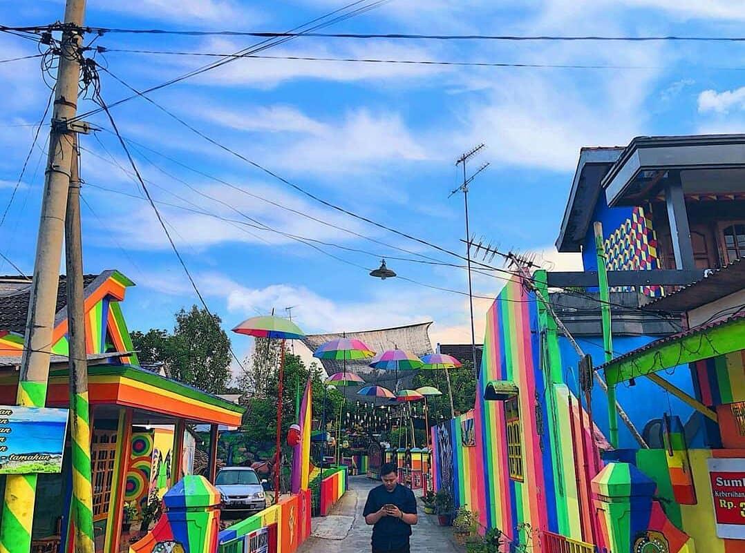kampung warna warni mulyosari tulungagung