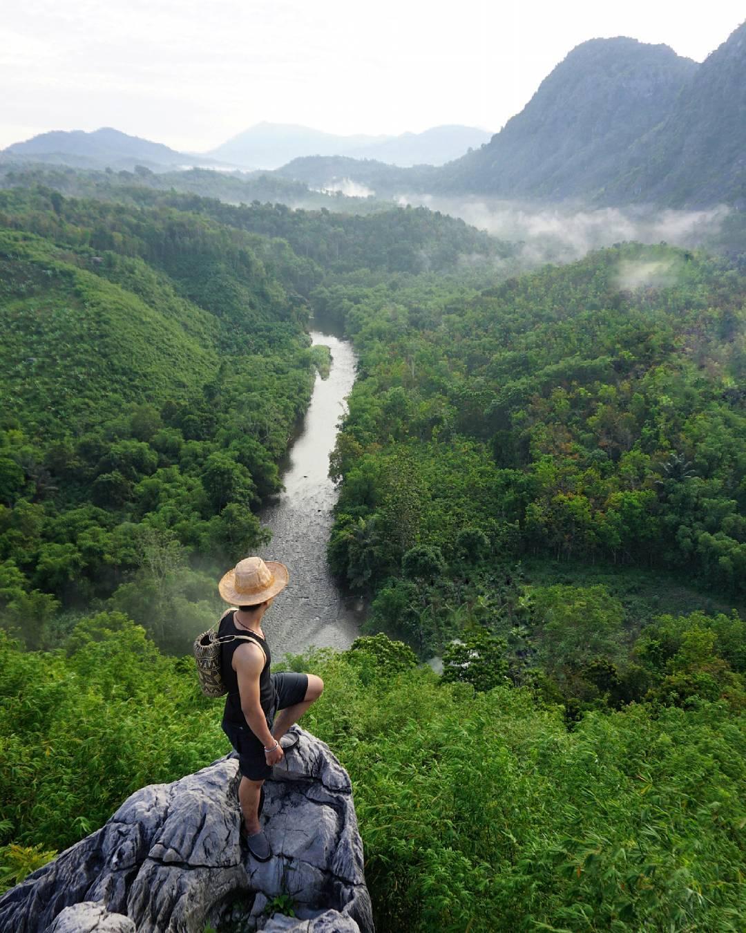 panorama bukit langara loksado hulu sungai selatan