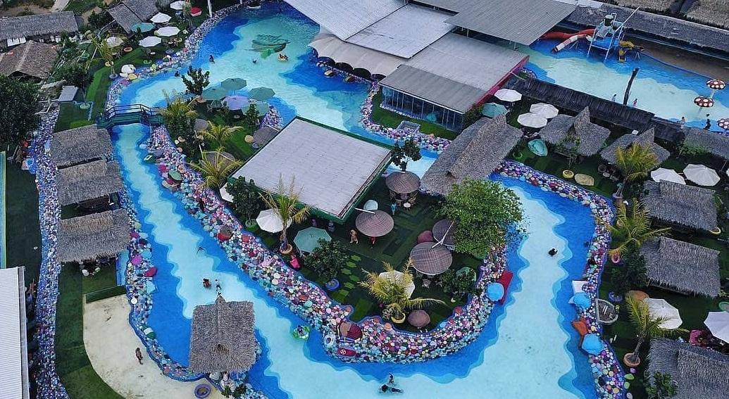 panorama cikao park purwakarta dari ketinggian