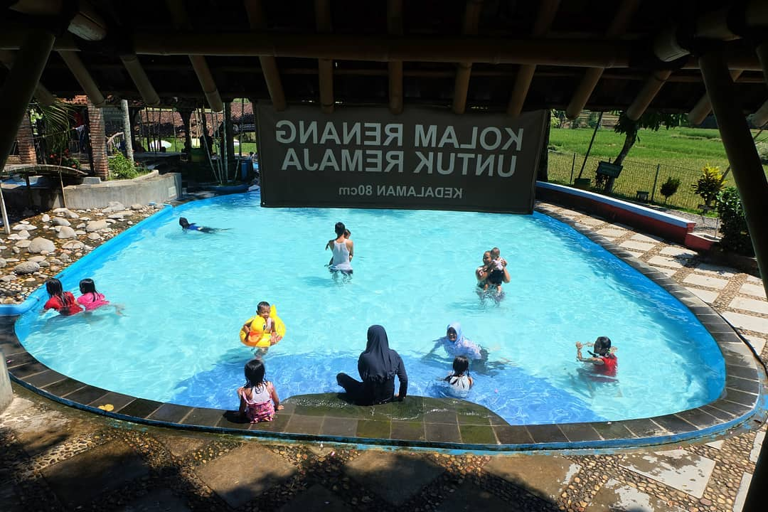 fasilitas kolam renang di taman botani sukorambi jember