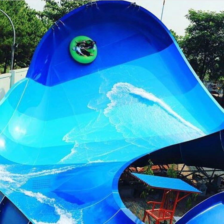 wahana air di ocean park bsd city serpong tangerang