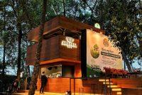 arborea cafe manggala wanabakti jakarta