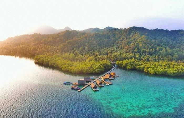 pesona keindahan pulau pahawang