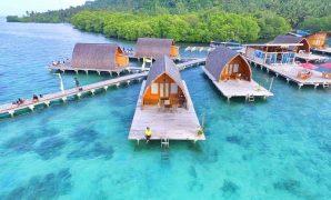 villa andreas di pulau pahawang