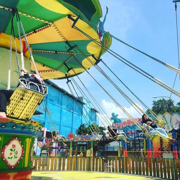 wahana permainan seri di suncity waterpark kota madiun