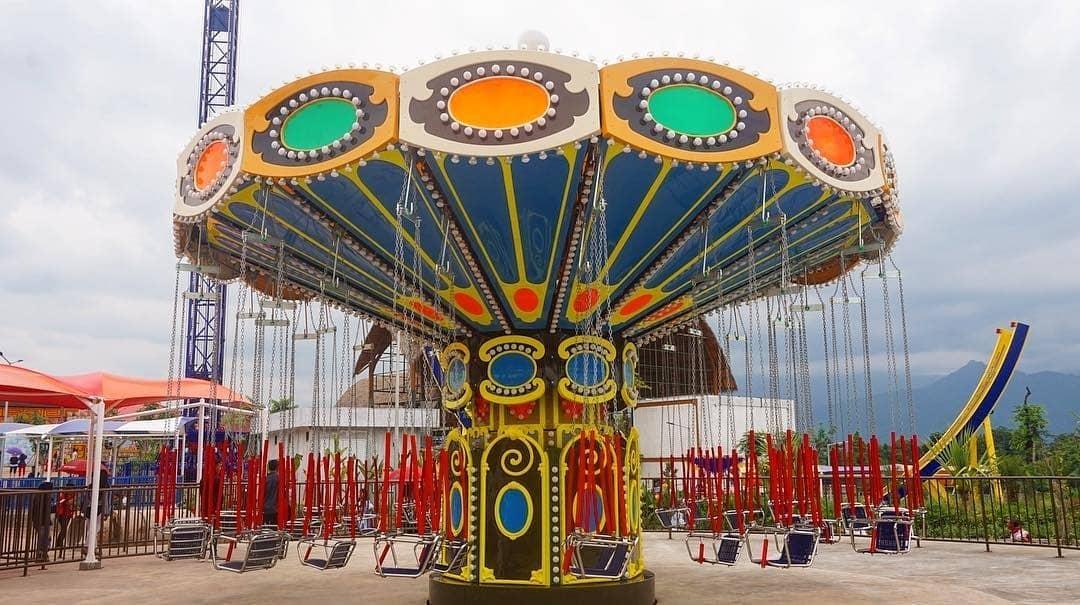 wahana permainan seru di saloka theme park