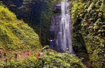 coban baung gunung kawi malang jawa timur