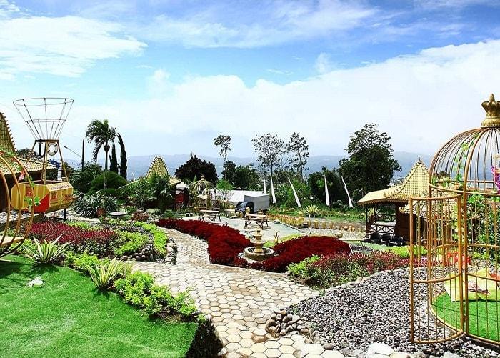 panorama king garden bandungan