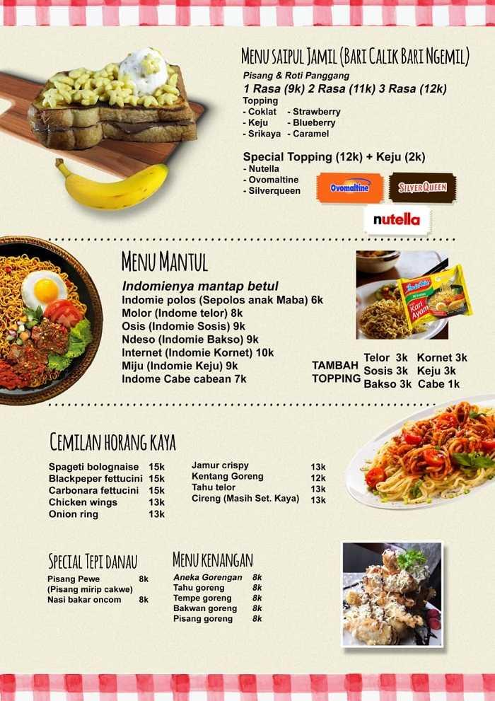 harga menu makanan di warung tepi danau 1