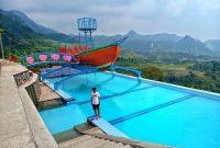 kolam renang curug ciherang