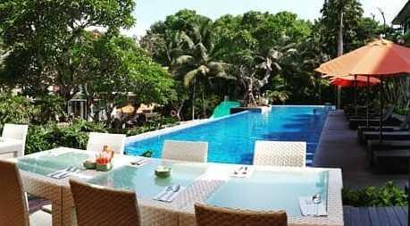 kolam renang harris hotel malang