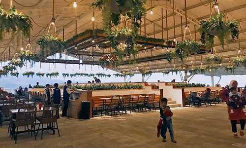restoran cimory dairyland prigen pasuruan