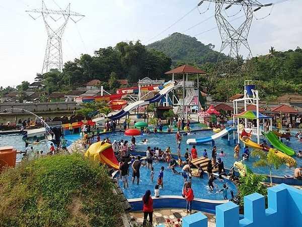 suasana victory waterpark soreang bandung