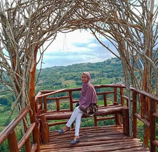 swafoto di wisata agro park klumpit tuban