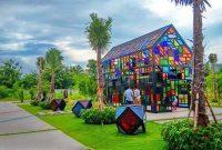 taman mozaik wiyung surabaya