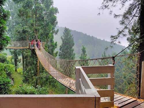 jembatan kembang langit park batang